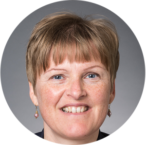 Portrætbillede af min kunde, Dorte, fra Aarhus Universitet